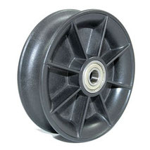 Cable Pulley Ø 100 mm for ropes up to Ø 20 mm with double ball bearing