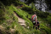 Berg & Trail Camps, Wandercamp, Wandern, teamevent.de, Teamevent, Firmenevent, Betriebsausflug, Schnurstracks, Teambuilding