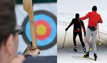 Biathlon, Skilanglauf für FIrmen, Biathlon für Firmen, teamevent.de, Teamevent, Firmenevent, Betriebsausflug, Schnurstracks, Teambuilding