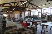 atelier de Celles de la menuiserie Lethu 79