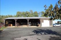 zone de stockage atelier de Celles de la menuiserie Lethu 79
