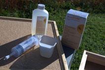 Restentmilbung mit Bienenwohl