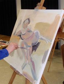 Malerei, figurativ,zeitgenössische Kunst,Kunst,Oberthler Peter,Malerei