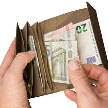 klein Geldbeutel Portemonnaie Herren Damen leicht nachhaltig