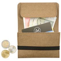 RFID Blocker Karte Geldbeutel Geldbörse Portmonee wallets Portemonnaie braun schwarz