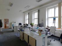 ein Büroraum der Berufsbetreuer im Spinnwerk Chemnitz