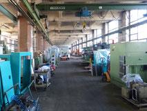 Gewerbekomplex Spinnwerk, Chemnitz: Beispiel Hallennutzung für Maschinenbau