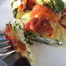Kerstins Keto, Zucchini Ricotta Päckchen