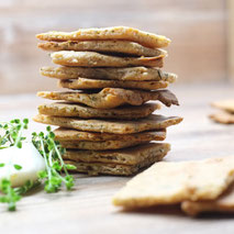 Kerstins Keto, Käse Cracker, glutenfrei