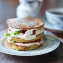 Kerstins Keto, fluffige Mini Pfannkuchen, glutenfrei