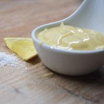 Kerstins Keto, Ketomayonnaise, Grundrezept für Yoghurt-Mayonnaise