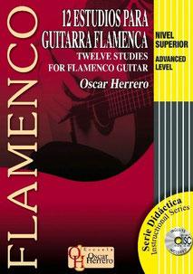 12 Estudios para Guitarra Flamenca