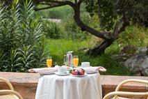 Menú desayuno Hotel Son Amoixa Vell Mallorca