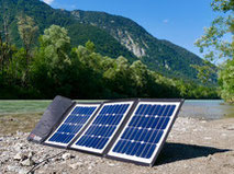 Mobile solar modules in your pocket. These solar modules have passed all tests. Mobile solar panels in your pocket & foldable are ideal for mobile use for campers, caravans, sailing boats & off-road. Solar modules super light & small.