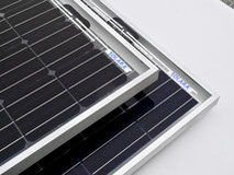 Solar panels with frames. These solar modules have passed all tests. Solar panels with frames are ideal for mobile use on campers, panel vans, vans, caravans and off-road vehicles. Solar modules easily flexible & accessible.