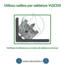 Calibro per saldature - Verificare la tolleranza su cordone di saldatura convesso