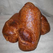 La brioche feuilletée, viennoiserie de la boulangerie Habert de Selles-sur-Cher