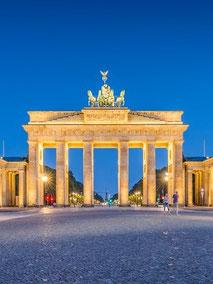 Berlin-Brandenburger-Tor-eines der beliebtesten Städtereiseziele im Deutschland-Tourismus