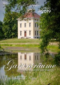 Titelbild Kalender Gartenträume im Dessau-Wörlitzer Gartenreich 2018