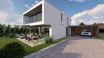 Einfamilienhaus Inkwil - S&S Totalunternehmung AG Ihr Partner für Gesamtleistungen