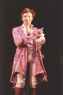 Bruno als Alfred im Schlussapplaus, Raimund Theater, Wien