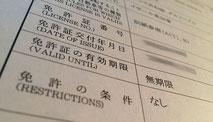 Traduction du permis au Japon