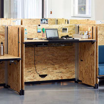 Table de bureau Vitra HACK