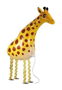 Folienballon Ballonwalker Airwalker Luftballon Tier Katze Hund Schildkröte Mops Gans Zebra Pony Schwein Hase Giraffe Pudel Dackel Panda Kuh Frosch Marienkäfer Elefant Helium schweben Versand läuft mit laufen Haustier Kindergeburtstag Party