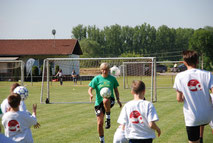 Social Event Promotion Kinder Fußball soziales Engagement Sandra Minnert Firma