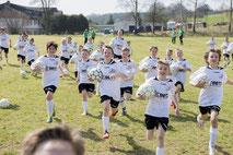 Fußballtag für Firmen mit Kinder Sandra Minnert Fußballcamp Fussballschule