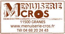 Menuiserie Cros - Granes