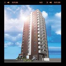アルファタワー札幌ステーションフロント_2005年12月竣工(AlphaTowerSapporoStationFront-Completed in 2005.12)