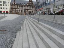 Gera - Treppenanlage aus Dornberger Granit