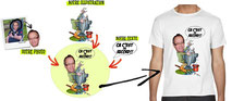 tee shirt anniversaire pêcheur humour