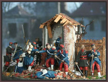 St. Privat 1870, 54mm Diorama