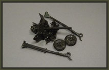 Bedford QL & 6 PDR. Gun, Diorama 1:35, Building Report, Stage 1