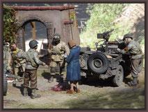 Sd.Kfz  251/9 Ausf. D ,'Stummel' ; Diorama 1/35