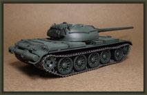 T-54-3 Tank, Diorama 1:35