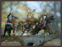 French Cuirassiers ; 54mm Airfix Figure Conversion