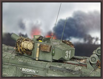 Churchill Mk III AVRE 'Petard' , Diorama 1/35