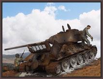 T-34/85 Composite , Diorama 1/35