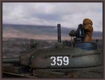 T-55A Soviet Union 1962, Diorama 1:35