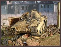 Panther Ausf. D , Diorama 1/35