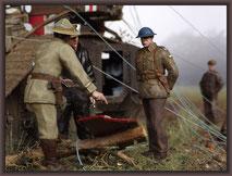 "British Mark V ""Male"" Tank, Diorama 1:35"