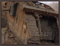 "Brit. Mk.IV ""Female"" Tank, Nord-France 1917"
