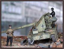 Alan Ardelt Waffenträger , Diorama 1/35