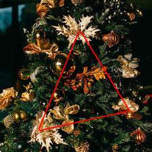 クリスマスツリー 飾り付け 横浜コットンハリウッド