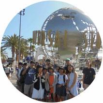 16年夏休みロサンゼルスプログラム写真
