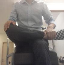おじぎの時の腰痛改善方法を教える奈良県御所市の整体師