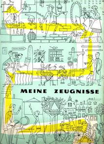 Zeugnismappe 1960